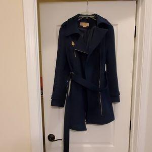 Michael Kors Navy Blue Winter Coat